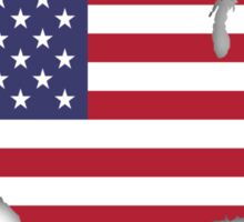 America Map Sticker