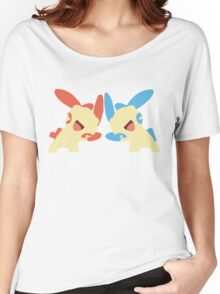 Plusle & Minun Minimalist Women's Relaxed Fit T-Shirt
