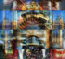 Urbanity: Luna Park Flinders Street Station by thescatteredimage