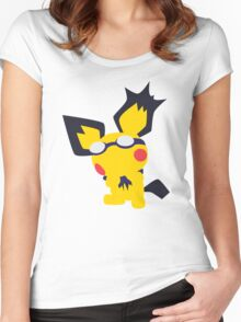 Pichu Minimalist Women's Fitted Scoop T-Shirt
