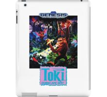 Toki: Going Ape Spit - SEGA Genesis Box Art iPad Case/Skin