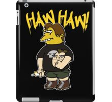 Born To Bully iPad Case/Skin
