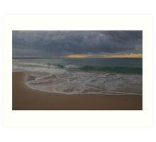 Quiet sunset. Noosa. Art Print