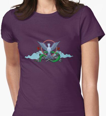 Natural Born Hellraiser Womens Fitted T-Shirt