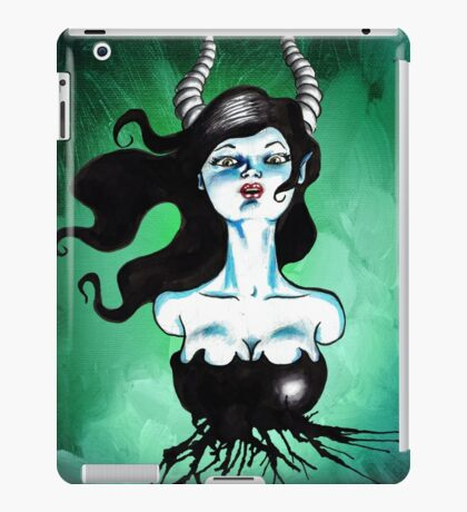 Ode to Maleficent iPad Case/Skin