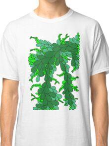 Leaves - green Classic T-Shirt