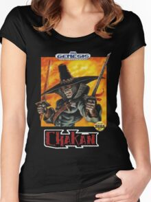 Chakan - SEGA Genesis Box Art Women's Fitted Scoop T-Shirt