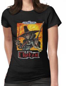 Chakan - SEGA Genesis Box Art Womens Fitted T-Shirt