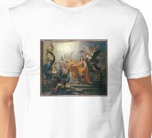 Antoine Rivalz - An Allegory of the Peace of Utrecht of 1713 Unisex T-Shirt