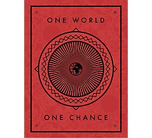One World Photographic Print