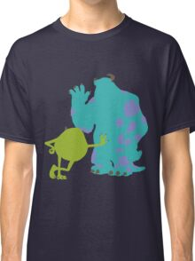 Mike Wazowski and James P. Sullivan (Mike and Sulley) - Monsters Inc Classic T-Shirt