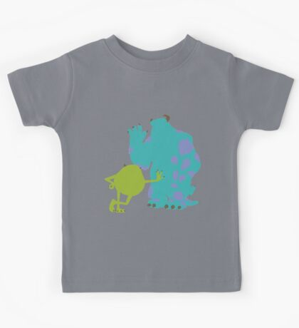 Mike Wazowski and James P. Sullivan (Mike and Sulley) - Monsters Inc Kids Tee