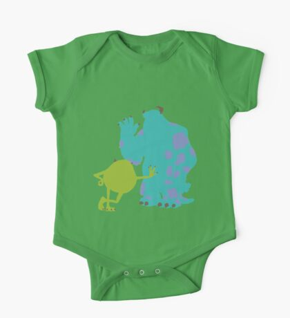 Mike Wazowski and James P. Sullivan (Mike and Sulley) - Monsters Inc One Piece - Short Sleeve