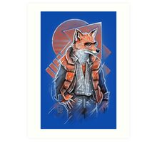 MJ Fox Art Print