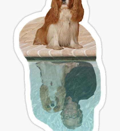Lucie Dreaming 2 Sticker