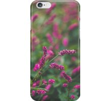 Pink Smartweed iPhone Case/Skin