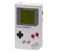 1989 Gameboy Photographic Print