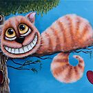 The Cheshire Cat by StressieCat