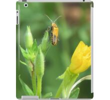 Soldier Beetle on Yellow Wildflowers iPad Case/Skin