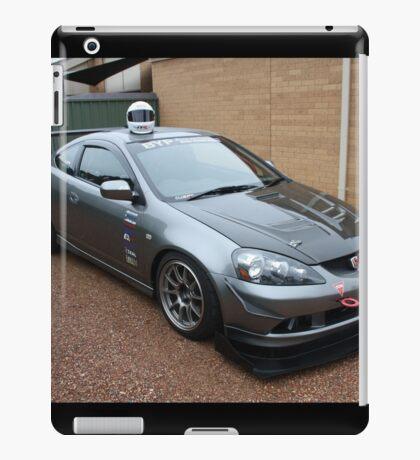 Honda DC5 Race Car Resting in Suburbia  iPad Case/Skin