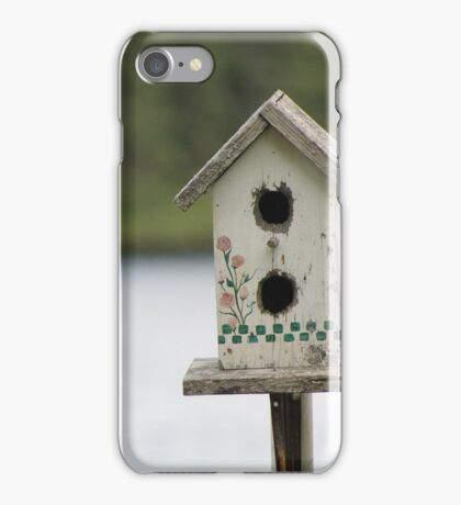 The old bird house iPhone Case/Skin