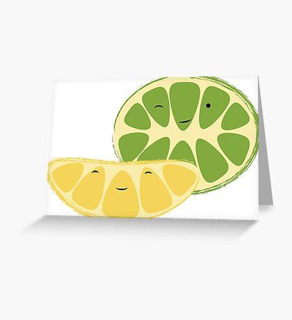 Lemon & Lime Best Friends Greeting Card