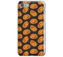 Spooky Halloween Pumpkin Pattern II iPhone Case/Skin