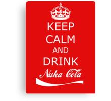 Drink Nuka Cola Canvas Print