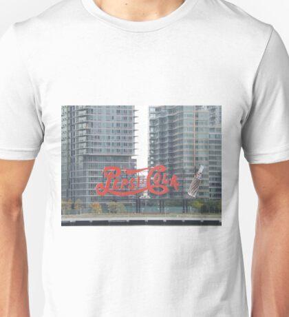 Historic Pepsi Cola Sign, Long Island City, New York Unisex T-Shirt