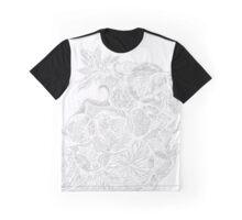 Zen Doodle 4A Snow White Graphic T-Shirt