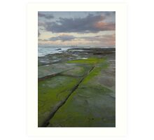 Evening light. Caloundra Headlands. Art Print