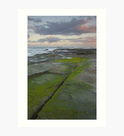 Evening light. Caloundra Headlands. Art Print