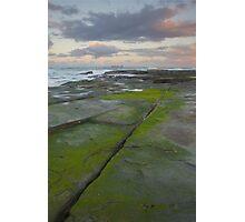 Evening light. Caloundra Headlands. Photographic Print