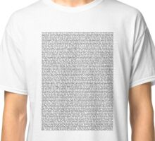 (almost) Entire Sisters Script T-Shirt Classic T-Shirt