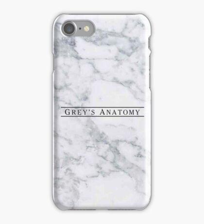 GREY'S ANATOMY - MARBLE iPhone Case/Skin