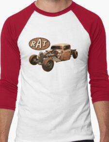 RAT - Side Pipes Men's Baseball ¾ T-Shirt