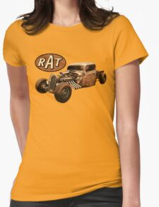RAT - Side Pipes Womens T-Shirt