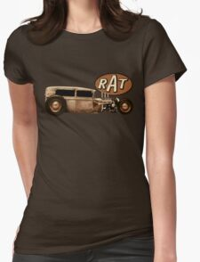 RAT - Side View Womens Fitted T-Shirt