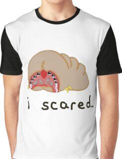 Brain Bug Scared Graphic T-Shirt