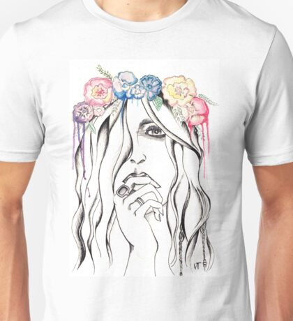 Flower crown is better than no crown Unisex T-Shirt