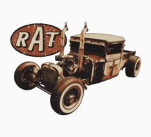 RAT - Semi style pipes Kids Tee