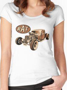 RAT - Classic Rat Women's Fitted Scoop T-Shirt