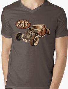 RAT - Classic Rat Mens V-Neck T-Shirt