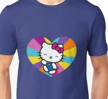 Hello Love Patches Unisex T-Shirt