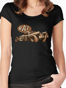 RAT - Early Coronet Women's Fitted Scoop T-Shirt