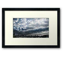 Skyline Echoes Framed Print