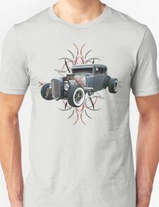 Pinstripe Hot Rod light Unisex T-Shirt