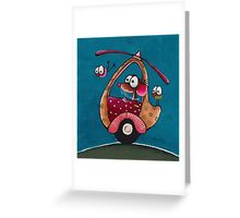 The Helicopter Greeting Card