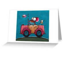 The Vintage Car Greeting Card