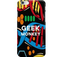 geek monkey  iPhone Case/Skin